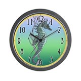 Sea Horse Wall Clock