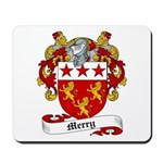 Merry Family Crest Mousepad