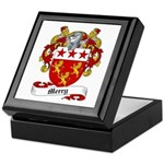 Merry Family Crest Keepsake Box