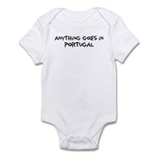 Portugal - Anything goes Infant Bodysuit