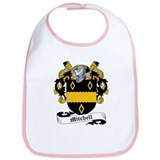 Mitchell Family Crest Bib