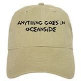Oceanside - Anything goes Baseball Cap