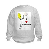 Volleyball Happy Sweatshirt