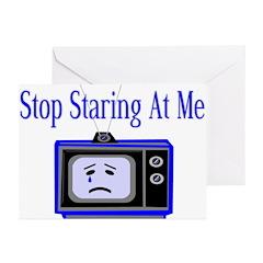 Stop Staring Greeting Cards (Pk of 10)