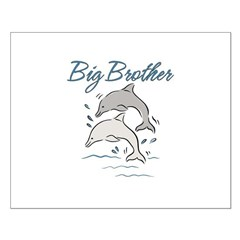 Dolphins Big Brother Small Poster
