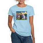 ST. FRANCIS + OES Women's Light T-Shirt