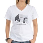 Professor of Graffiti Women's V-Neck T-Shirt