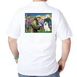 St Francis & Samoyed Golf Shirt