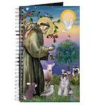 St Francis & Schnauzer (#5) Journal