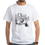 Pavlov's Dogs White T-Shirt