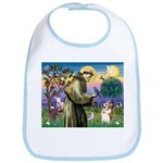 St Francis /Welsh Corgi (p) Bib