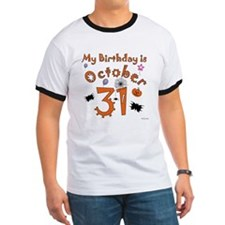 Halloween Birthday T
