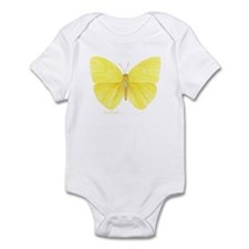 yellow butterfly Infant Bodysuit