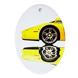 Cute Enzo Oval Ornament