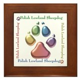 Lowland Name2 Framed Tile
