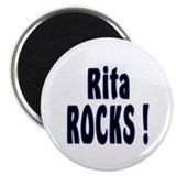 "Rita Rocks ! 2.25"" Magnet (10 pack)"