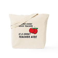Great Teacher Aide Tote Bag