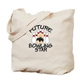 Future Bowling Star Tote Bag