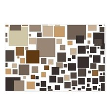 Toffee Tiles Postcards (Package of 8)