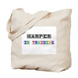 Harper In Training Tote Bag