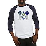 Masonic Columns (color) Baseball Jersey