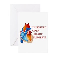 I Survived Heart Surgery! Greeting Cards (Pk of 20