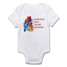 I Survived Heart Surgery! Infant Bodysuit