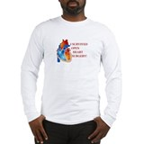 I Survived Heart Surgery! Long Sleeve T-Shirt