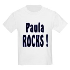 Paula Rocks ! Kids T-Shirt