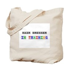 Hair Dresser In Training Tote Bag