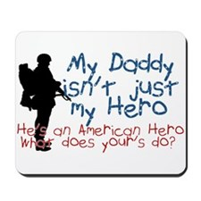 Cute Military kids Mousepad