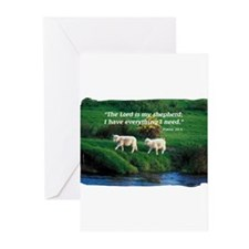 The LORD is my Shepherd Greeting Cards (Pk of 20)