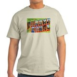 Panama Canal Greetings (Front) T-Shirt