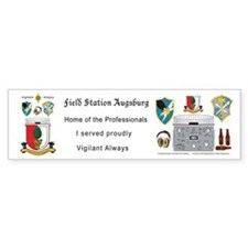 Field Station Augsburg Bumper Bumper Sticker
