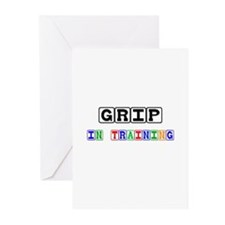 Grip In Training Greeting Cards (Pk of 10)