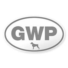 German Wirehaired Pointer (GWP) Sticker (50 pack)
