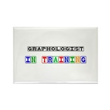 Graphologist In Training Rectangle Magnet (10 pack