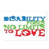 Disability + Love Postcards (Package of 8)