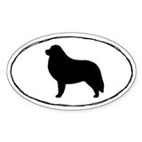 Great Pyrenees Oval Sticker (50 pk)