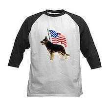 Patriotic German Shepherd Tee