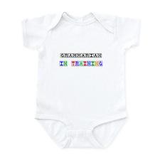 Grammarian In Training Infant Bodysuit