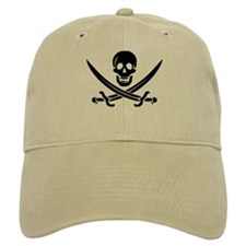 Calico Jack Pirate Baseball Cap