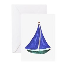 Sailboat Greeting Cards (Pk of 10)