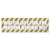 Funny Bad Driving Bumper Bumper Bumper Sticker