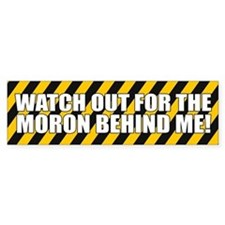 Funny Bad Driving Bumper Bumper Stickers