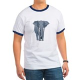 Elephant Front &amp;amp; Back T