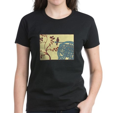 Vintage Horn Women's Dark T-Shirt