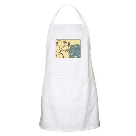 Vintage Horn BBQ Apron