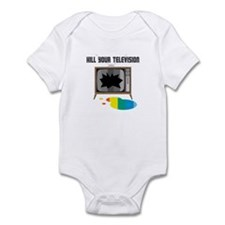 Kill Your Television Infant Bodysuit