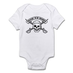 Prepare To Be Boarded Infant Bodysuit